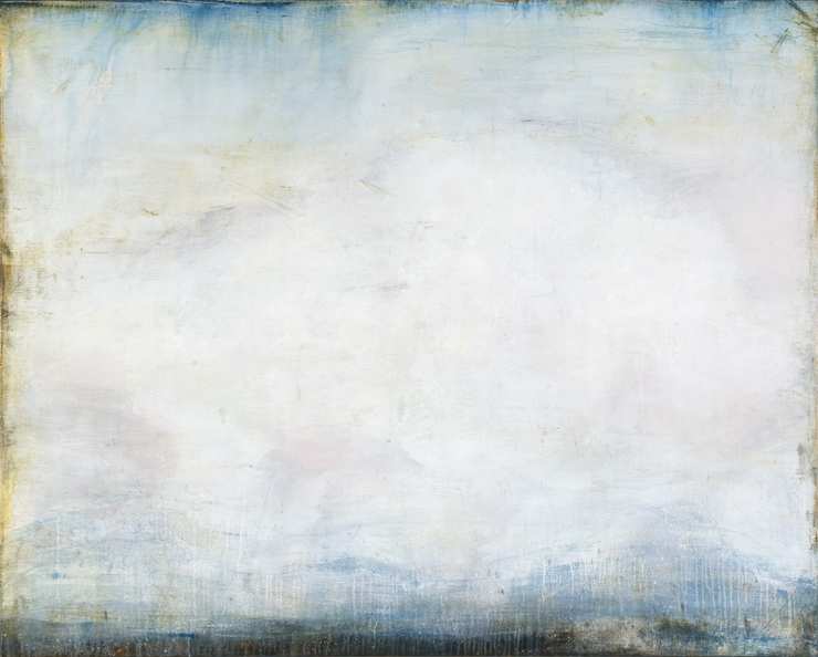 Blown Cloud (48x60 Acrylic on Linen 2013)