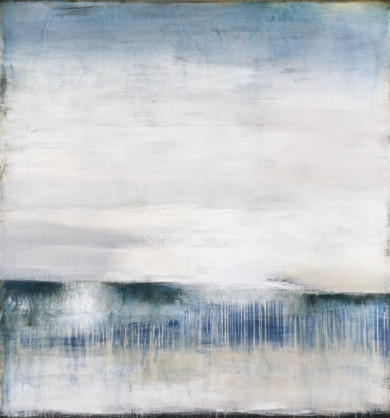 Song and Water (62x58 Acrylic on Canvas 2013)
