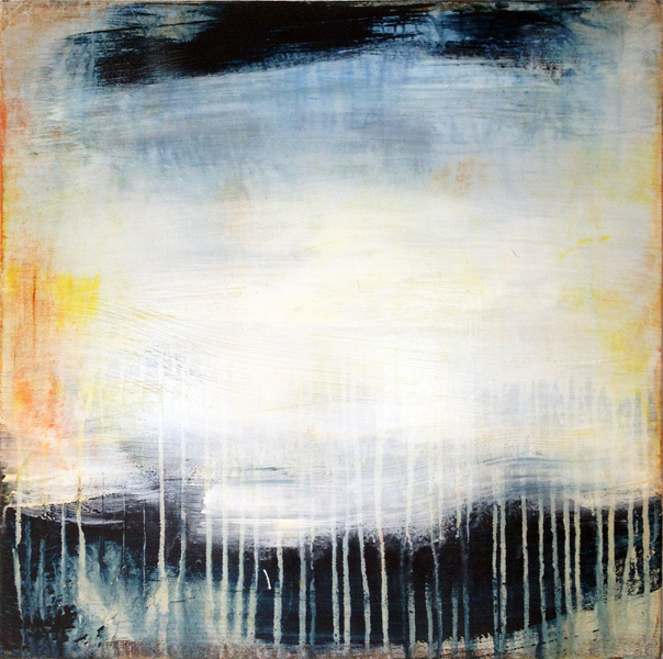 Storm Clearing (20x20 Acrylic on Linen 2012)