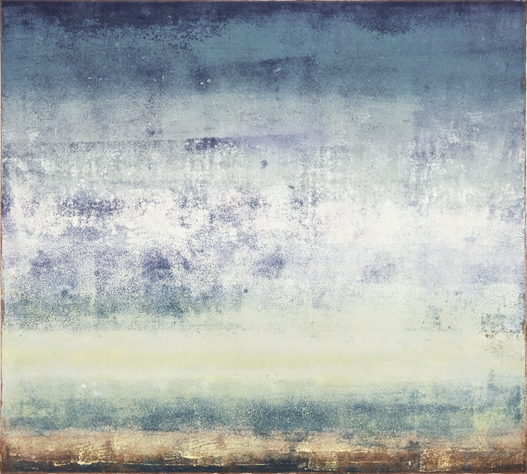 Sea of Days IV (30x22 Monotype 2014)