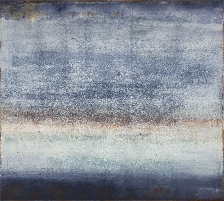 Sea of Days XII (30x22 Monotype 2014)